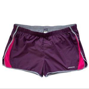 Patagonia Women's Running Shorts XL PURPLE lined
